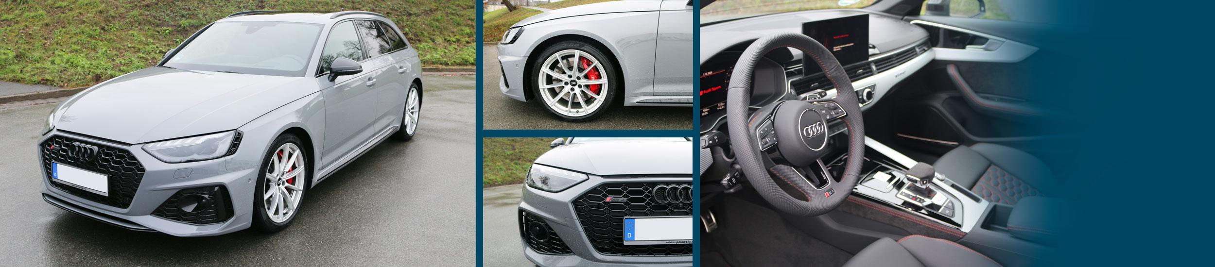 Sparmobile - AUDI RS4 AVANT Neu 2021