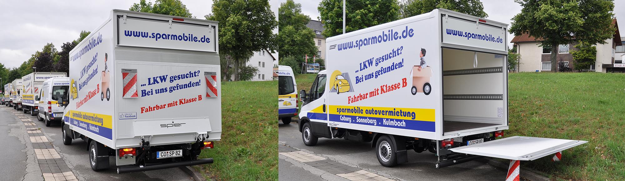 mietwagen transporter iveco daily koffer sparmobile. Black Bedroom Furniture Sets. Home Design Ideas