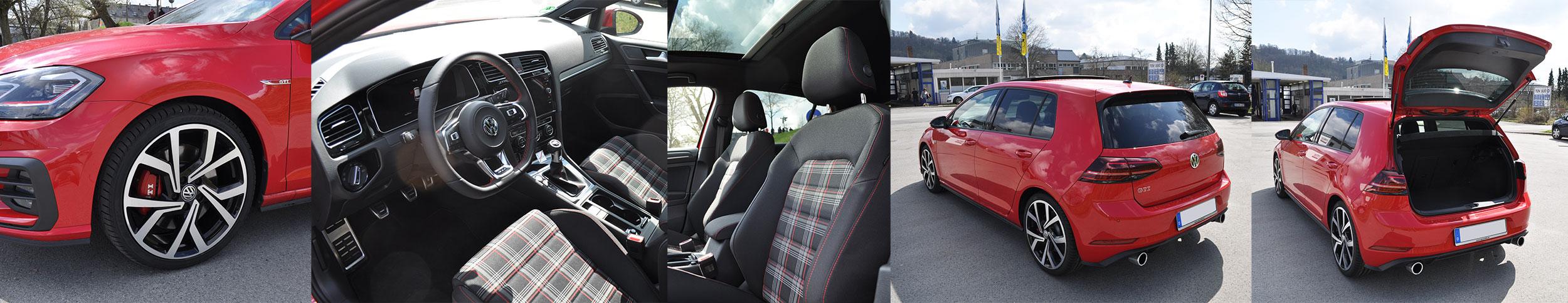 VW Golf GTI 2018 - Ausstattung