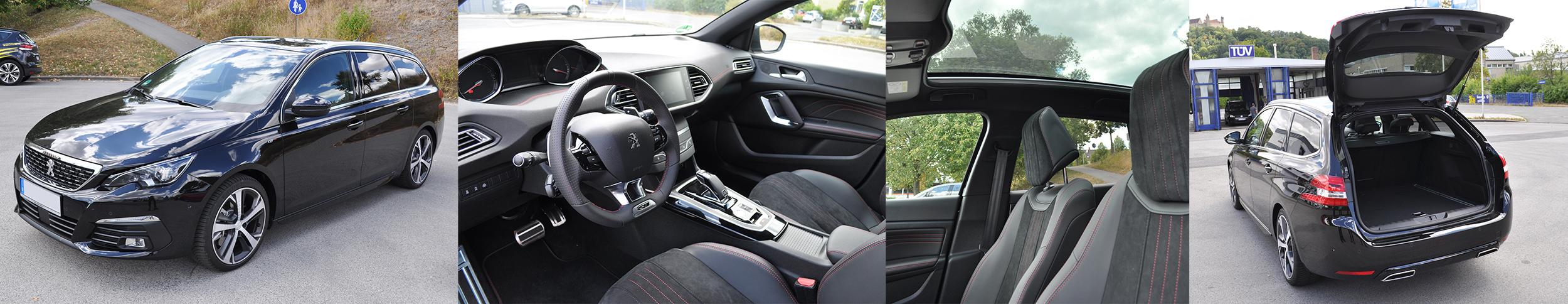 Peugeot 308 SW 2018 Ausstattung