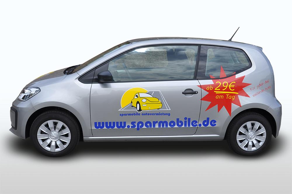VW Up 2018 Mietwagen