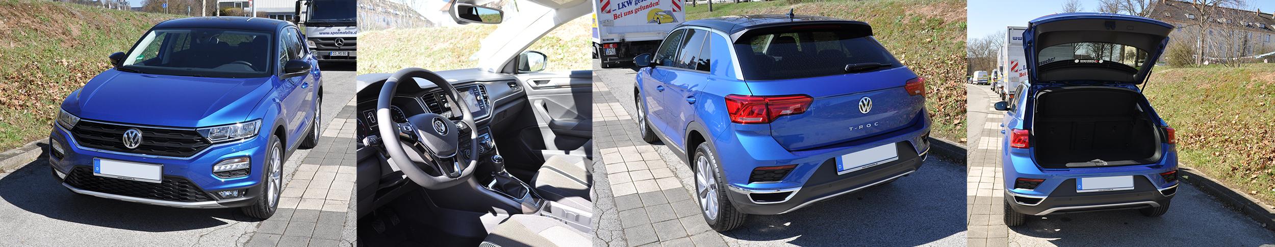 VW T-Roc 2019 Ausstattung