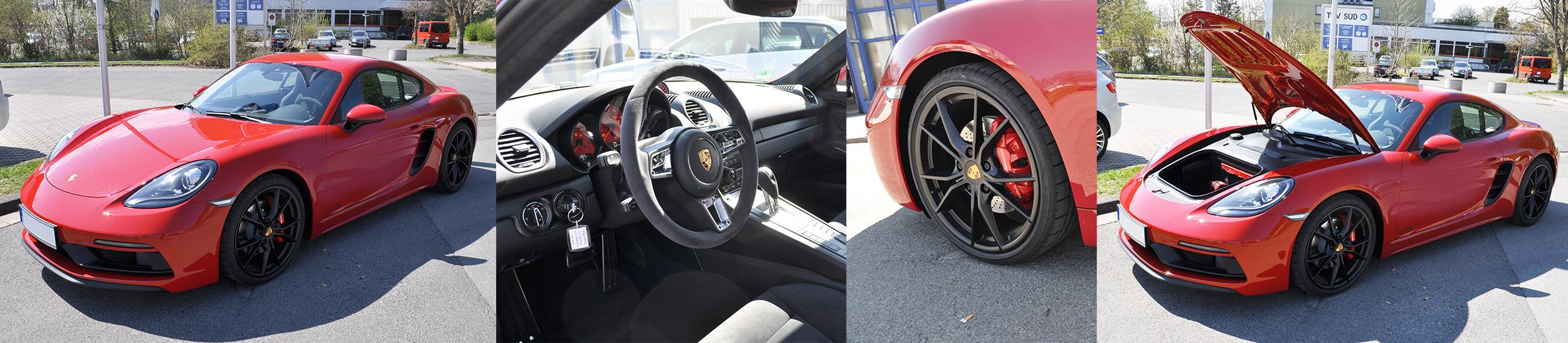 Porsche Cayman GTS Ausstattung