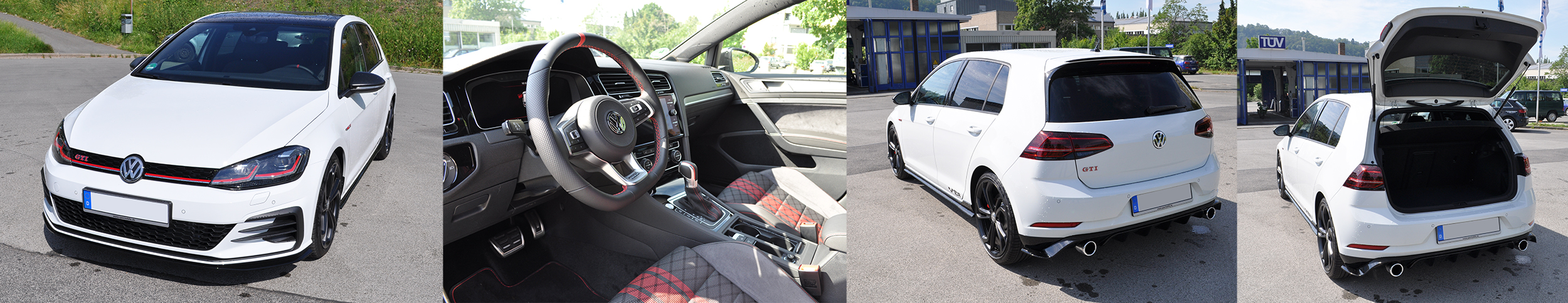 VW Golf GTI TCR Ausstattung